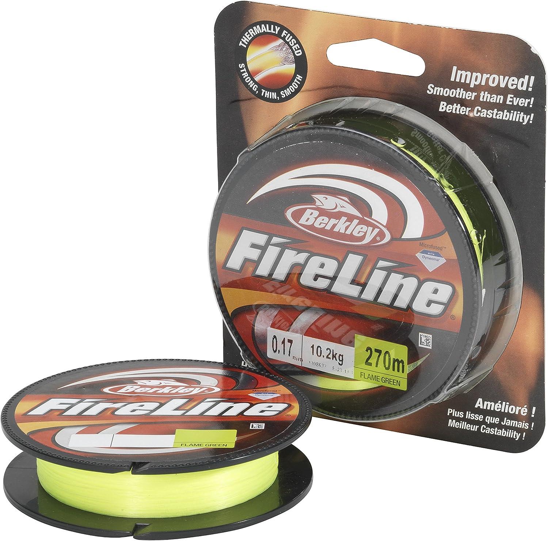 Berkley Fireline 270M 0.12MM FLAME-Gr/Ã/¼n