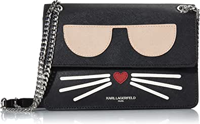 Karl Lagerfeld Paris Maybelle Novelty Flap Shoulder Bag