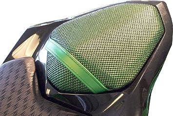 Kawasaki Z800 (2013-2018) Cubierta TRIBOSEAT para Asiento Antideslizante Accesorio Personalizado Negro: Amazon.es: Coche y moto