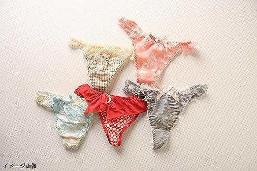 aec847710f3e Amazon.co.jp: Risa Magli おまかせTバック5枚セット福袋(おまかせ、M ...