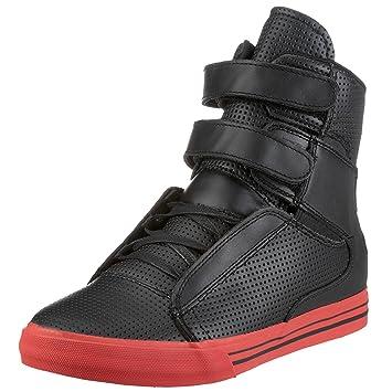 7d13a68c275f Supra TK Society Black Perf Leather Shoe UK11  Amazon.co.uk  Sports    Outdoors