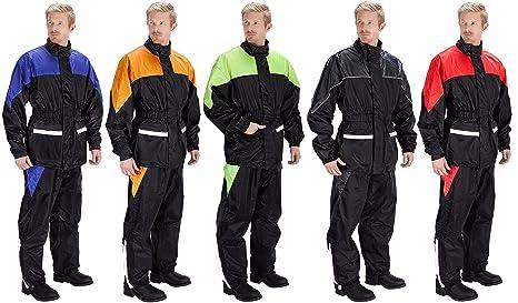 cheap for discount women best wholesaler Amazon.com: Motorcycle Rain Gear - Two Piece Motorcycle Rain ...