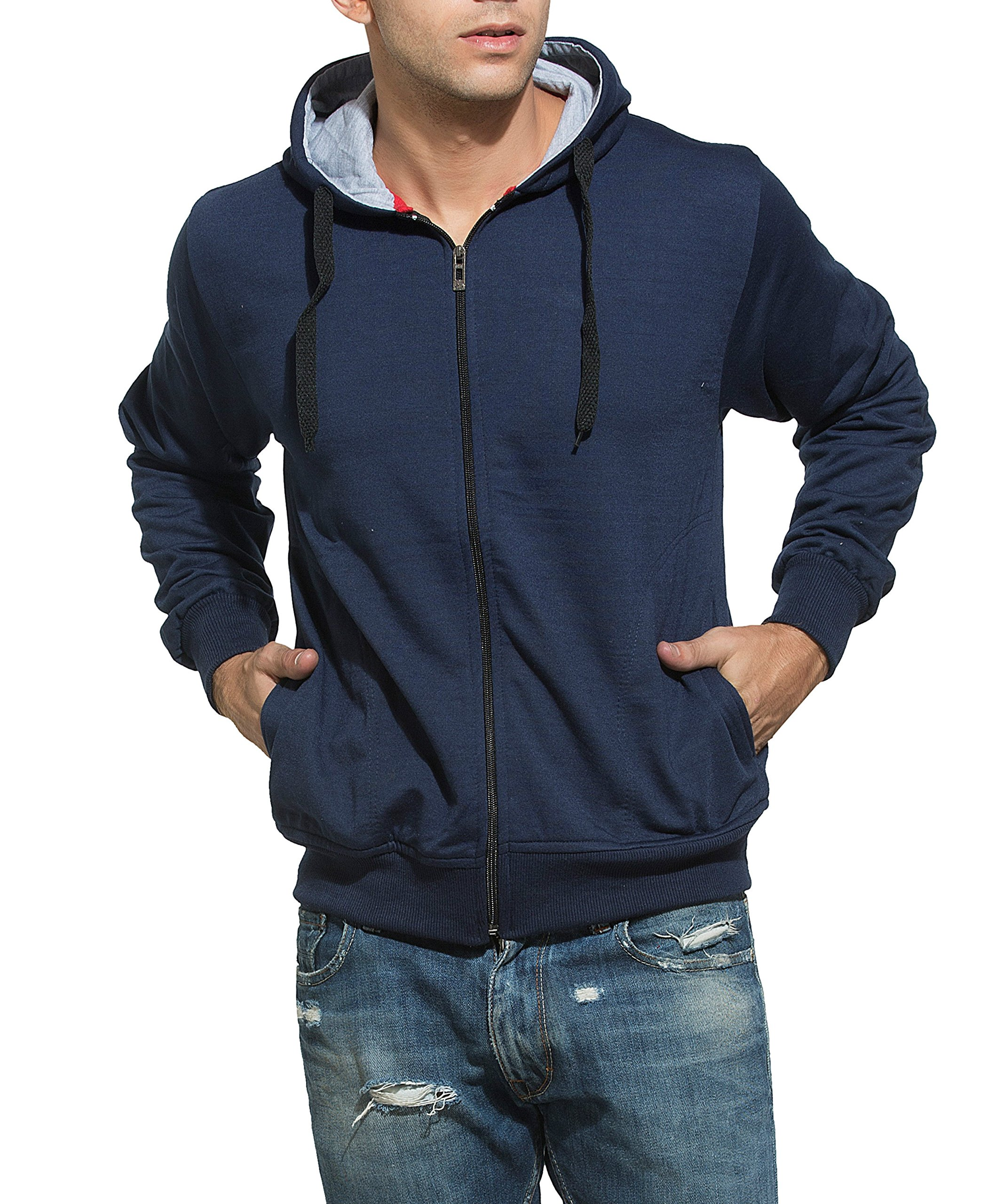 Alan Jones Clothing Men's Cotton Hooded Sweatshirt product image