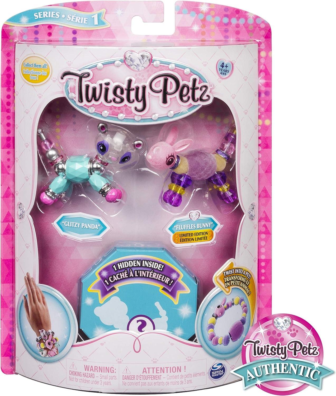 Twisty Petz Collectible Dazzling Glitzy Bracelets 3 Pack Set NEW