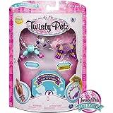 Twisty Petz – 3-Pack - Glitzy Panda, Fluffles Bunny and Surprise Collectible Bracelet Set for Kids