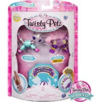 SpinMaster Twisty Petz Figuras Coleccionables Three, Panda/Bunny/Cat1, Pack Number 3