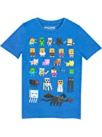 Minecraft Boys Minecraft T-Shirt Ages 3 to 15 Years