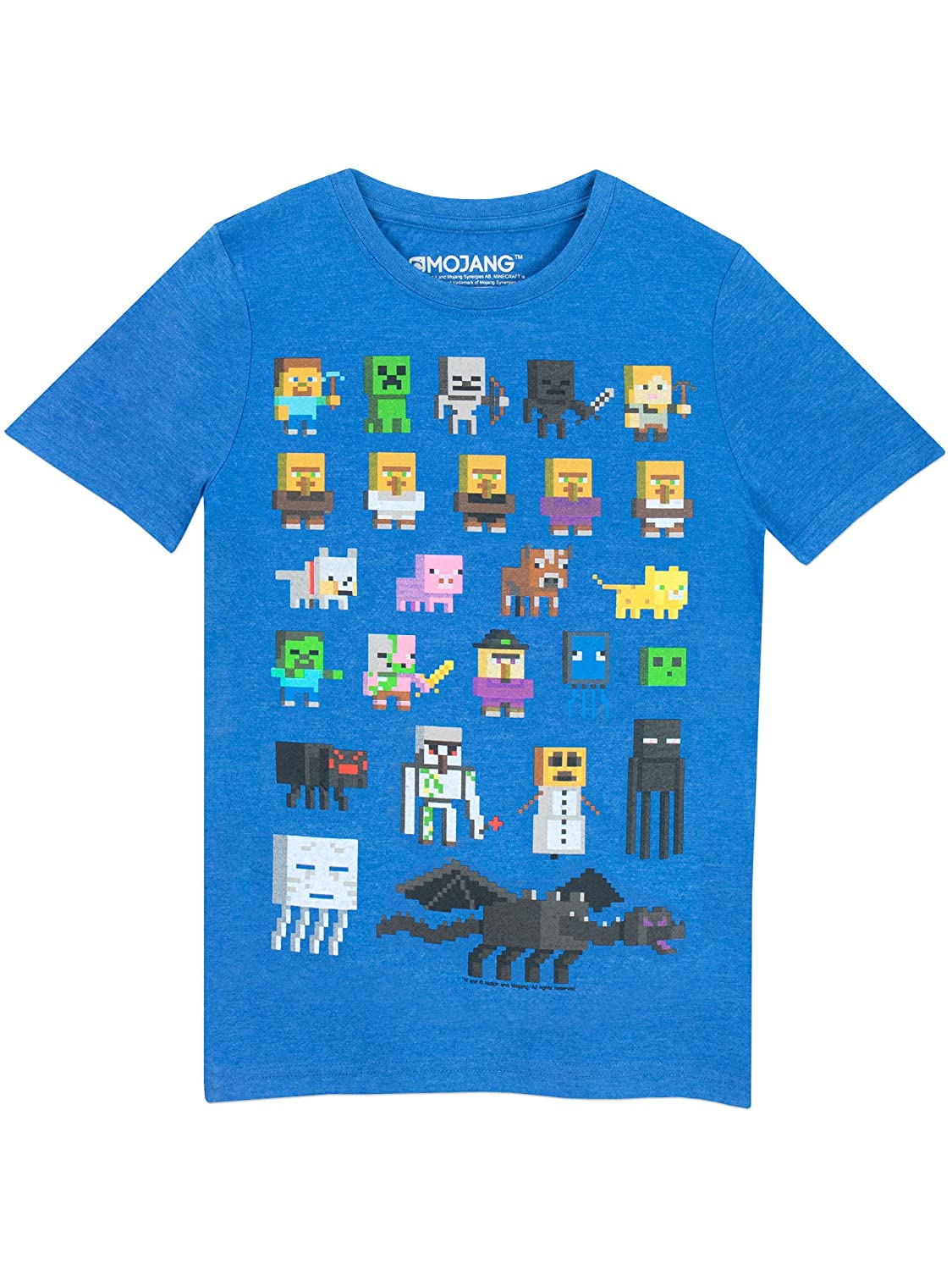 Minecraft Hilltop by Capy Youth T-shirt
