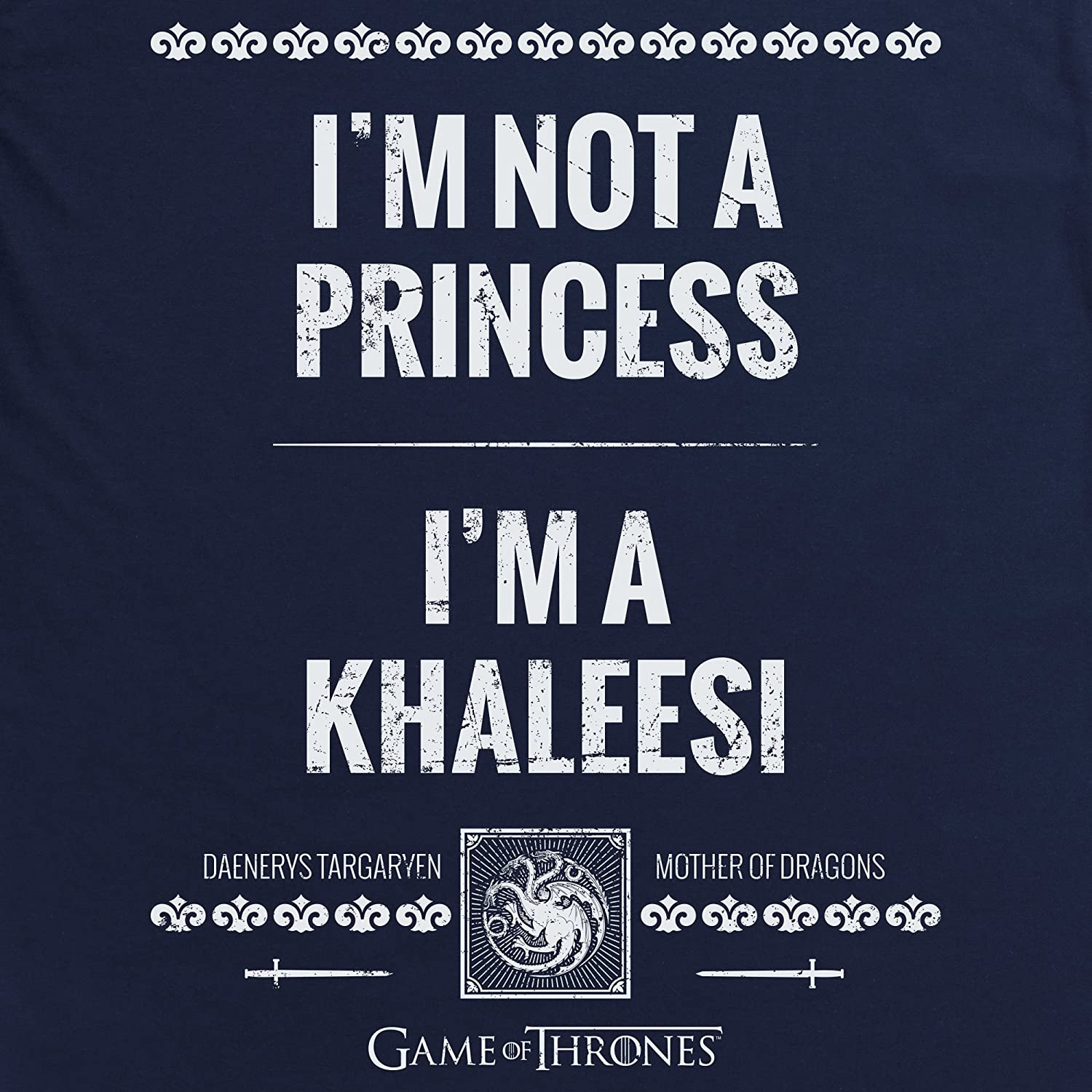 Game Of Thrones Official Khaleesi Sudadera con Capucha, para ...