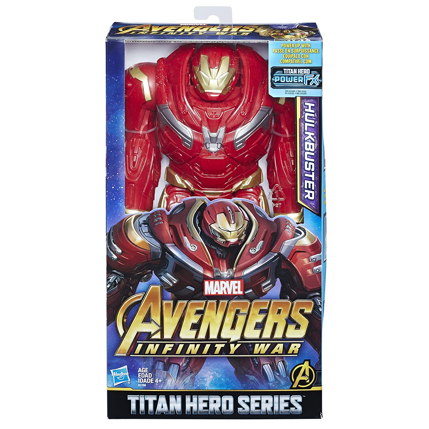 Avengers Marvel Infinity War Titan Hero Series Hulkbuster with Titan Hero Power FX Port Hasbro E1798