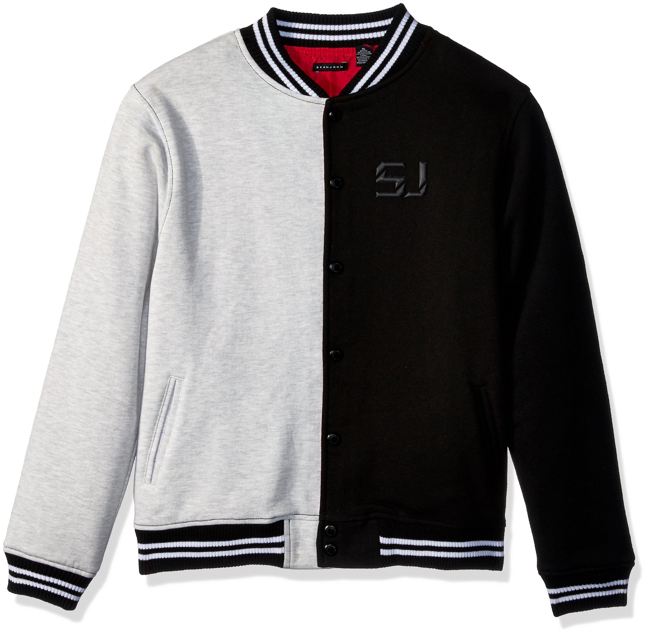 Sean John Big Boys' Split Bomber Jacket, Multi, XL