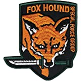 """Metal Gear FOX HOUND Special Force Logo Patch 3.5"""" velcro backing cosplay"""