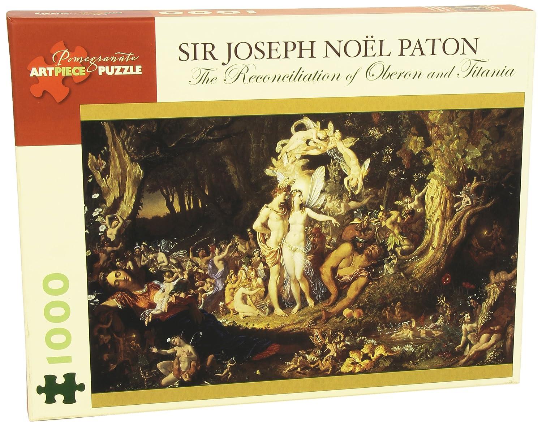 Sir Thomas Noel Patton 1000 Piece Puzzle Reconciliation of Oberon /& Titania
