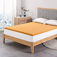Zinus 5cm Cooling Copper Infused Memory Foam Mattress Topper, Double