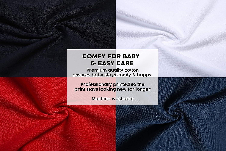 Unterhemd wei/ß leopard Baby Moos Baby M/ädchen 0-24 Monate