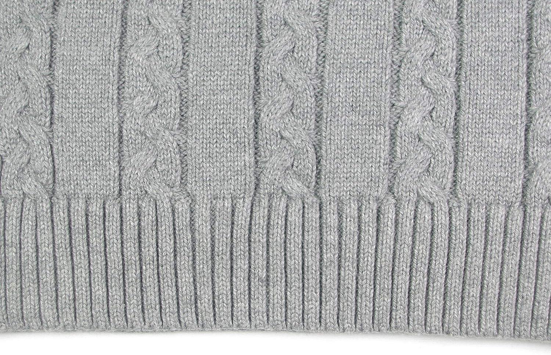 SYEEGCS Little Boys Girls Kids Childrens Knit Sweater Vest Top Jumpers Cotton Knitwear Sleeveless