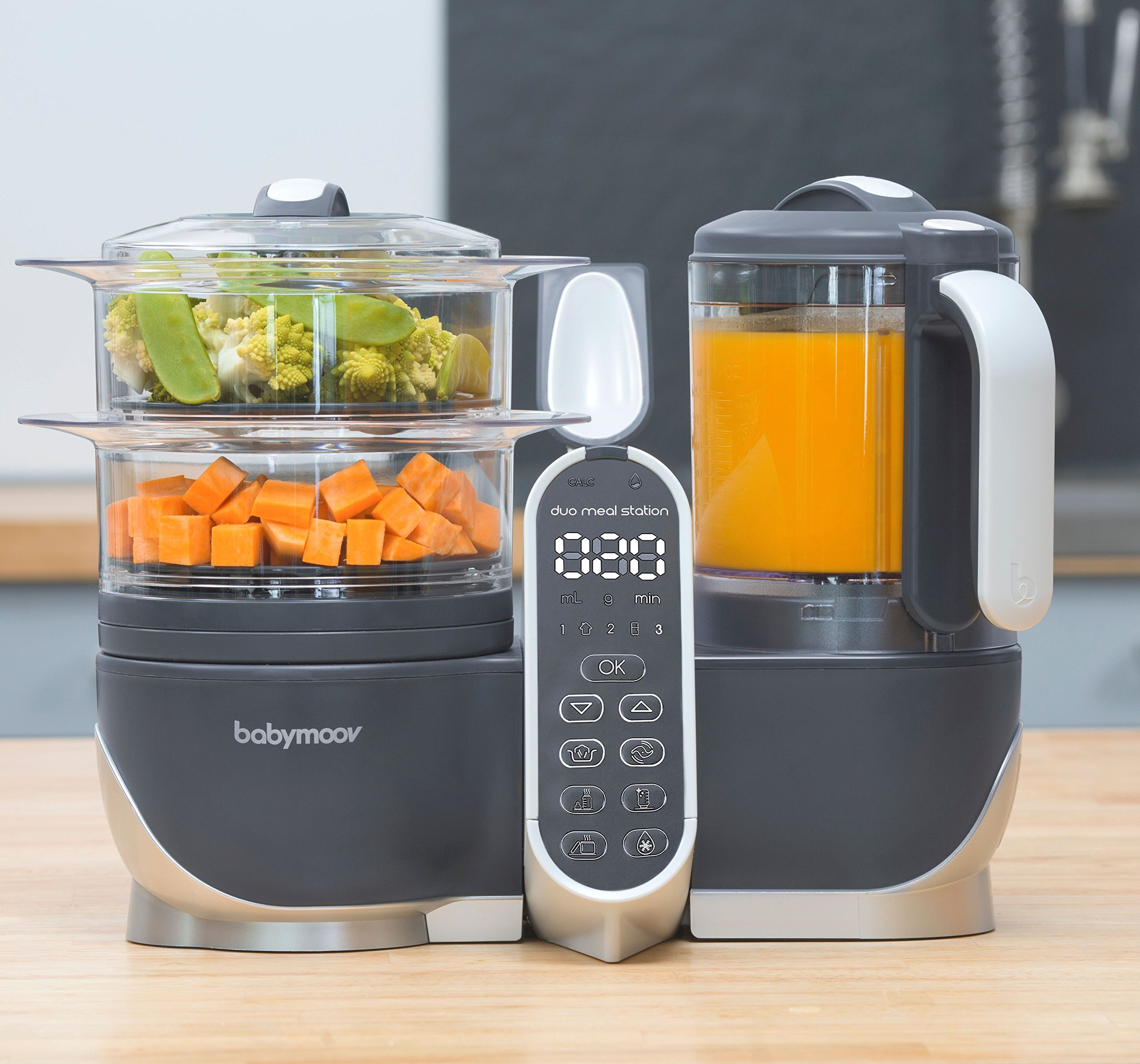 Duo Meal Station Food Maker | 6 in 1 Food Processor with Steam Cooker, Multi-Speed Blender, Baby Purees, Warmer, Defroster, Sterilizer (2019 NEW VERSION) by Babymoov (Image #2)