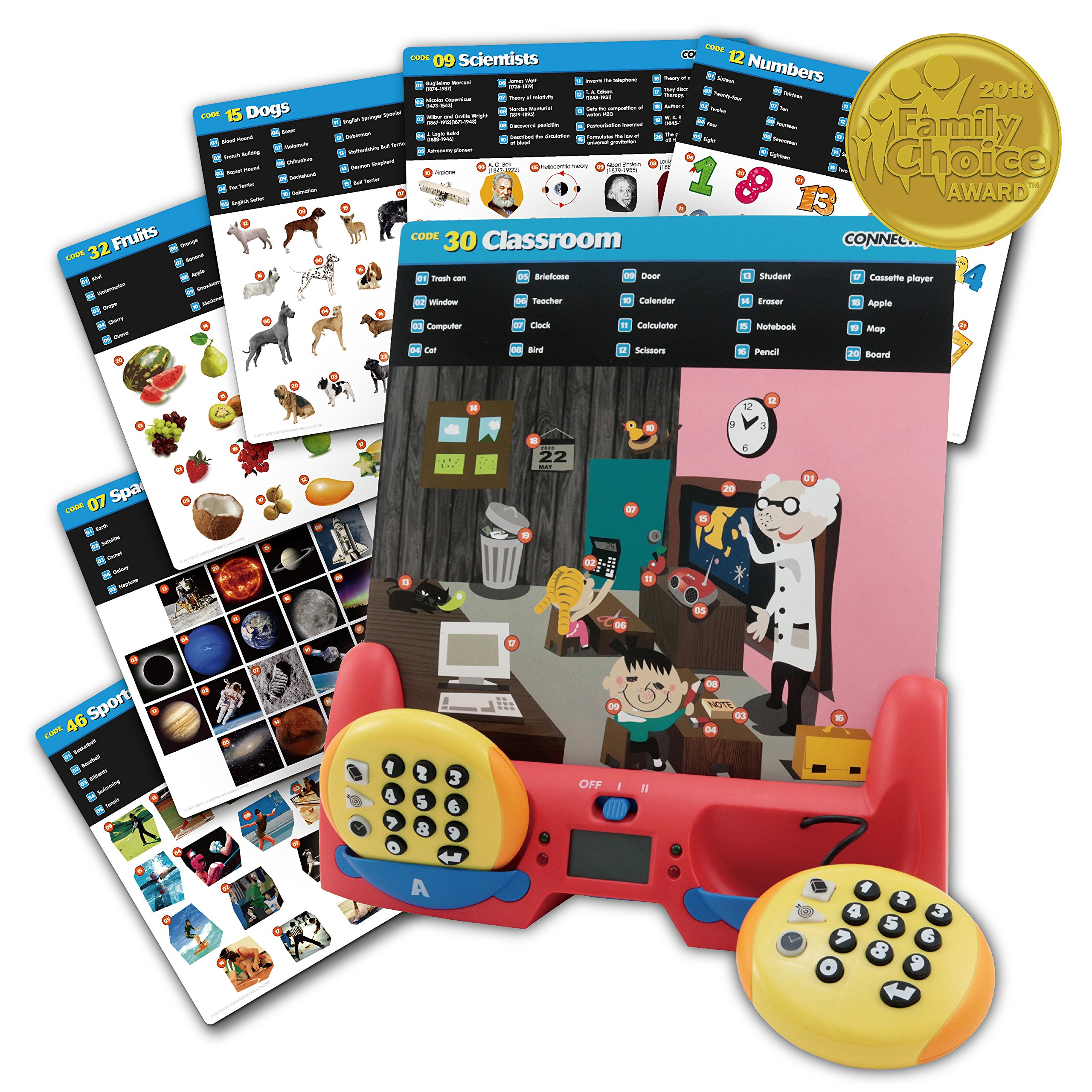 BEST LEARNING Connectrix - Exciting Educational Matching Game Toy for Kids 1 to 2 Players