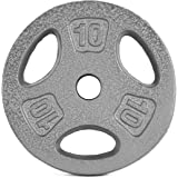 Cap Barbell 10 -Pounds Standard Grip Plate
