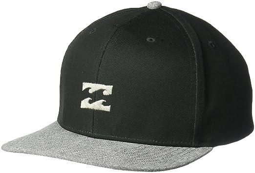a7272784247f Amazon.com: Billabong Men's All Day Snapback, Black/Grey ONE: Clothing