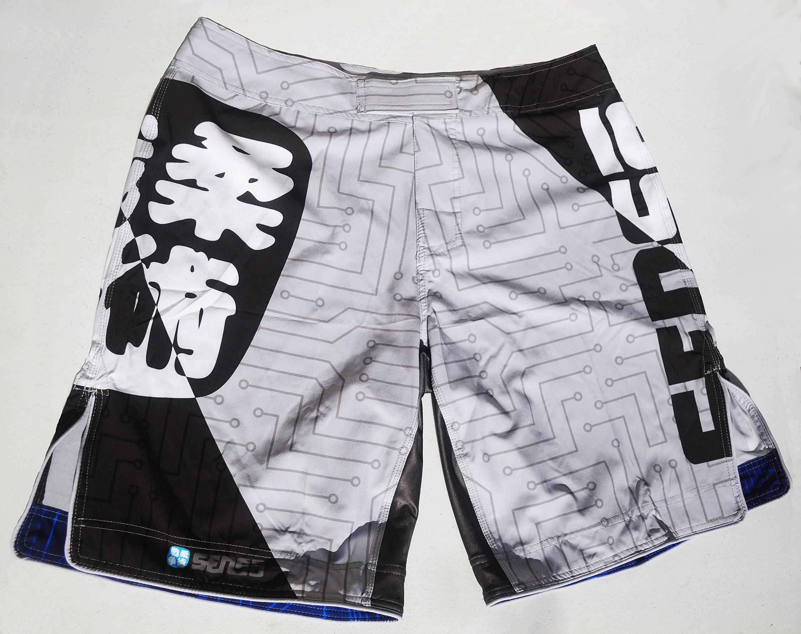 Hantai BJJ Shorts - Jiu Jitsu/Nogi/Grappling Shorts (XL) by SENSO JIU JITSU