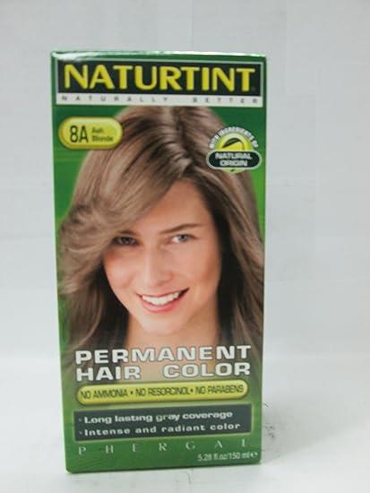 Naturtint Permanent Hair Colorant, 8a Ash Blonde 5.28 Fl Oz ...