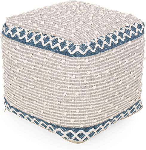 Christopher Knight Home Carrie Cube Pouf