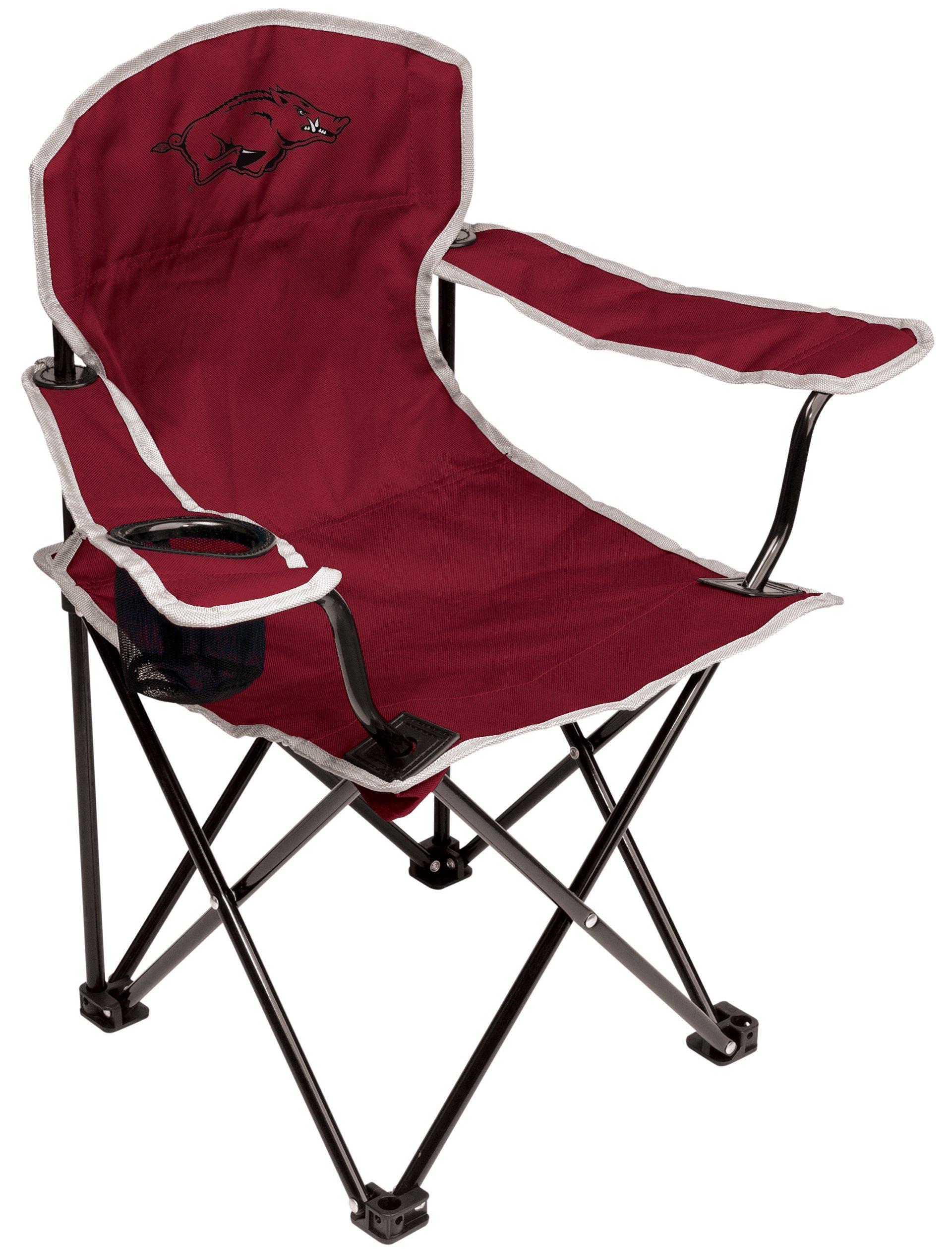 NCAA Arkansas Razorbacks Youth Folding Chair, Red