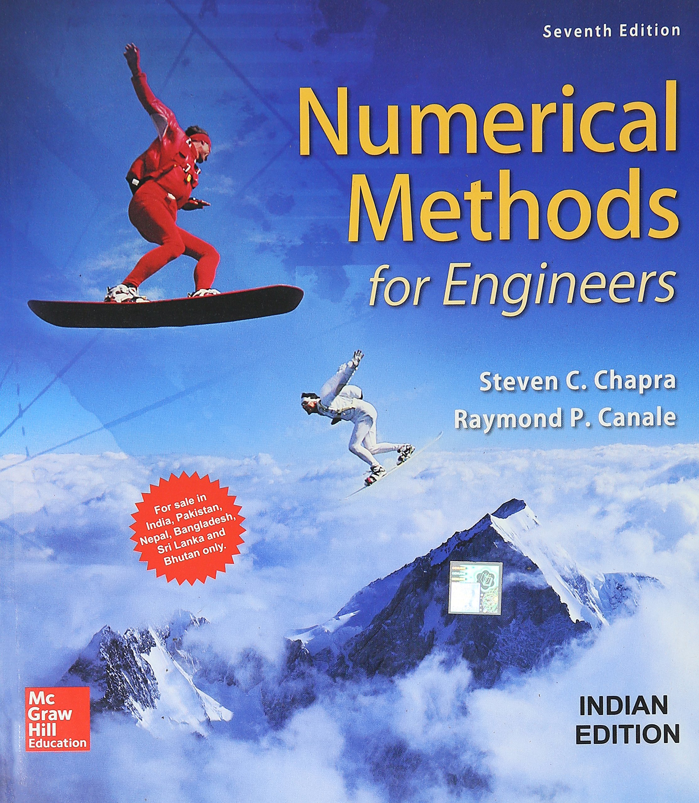 Download Numerical Methods For Engineers, 7 Ed PDF