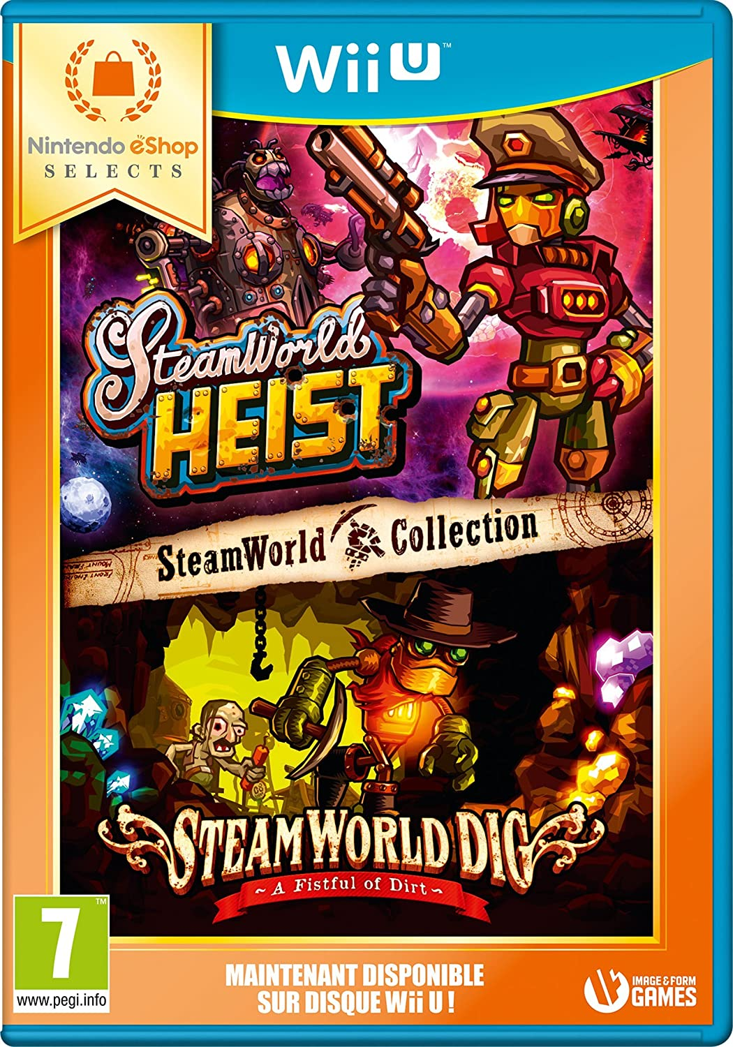 Steamworld Collection: Steamworld Heist + Steamworld Dig ...
