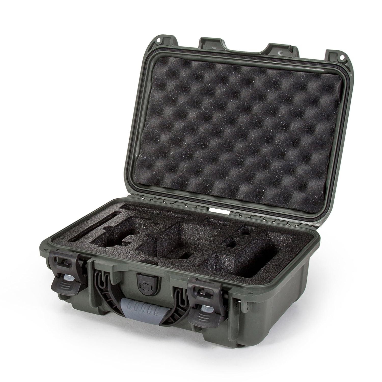 Nanuk DJI Drone Waterproof Hard Case with Custom Foam Insert for DJI Mavic PRO - Black Plasticase Inc. 920-MAV1