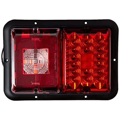 Bargman 47-84-808 Horizontal Mount Taillight, Red: Automotive