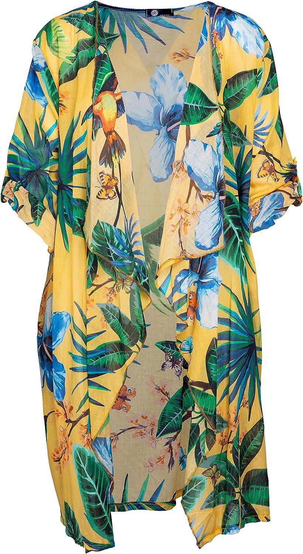 M Made in Italy Womens Kimono