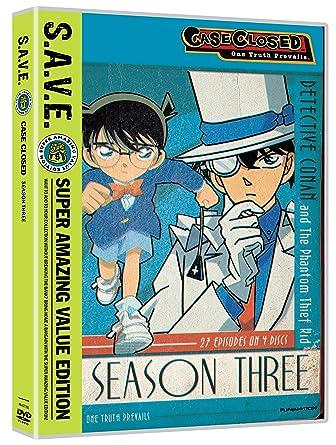 Amazon com: Case Closed: Season 3 (Super Amazing Value Edition