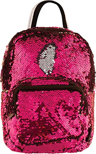 Style.Lab by Fashion Angels Magic Sequin Mini Backpack – Pink Silver