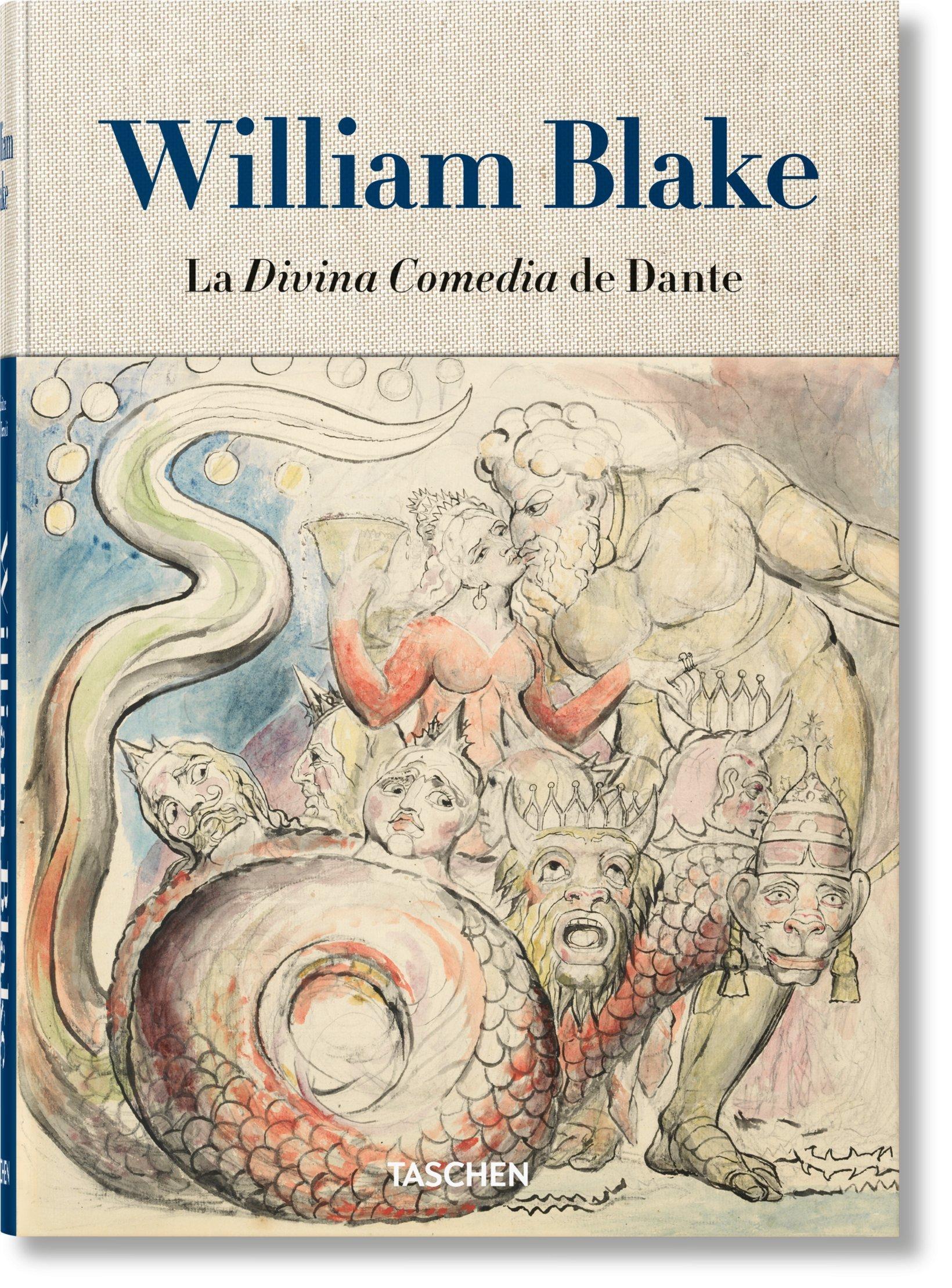 William Blake. Los dibujos para la Divina Comedia de Dante: Amazon ...
