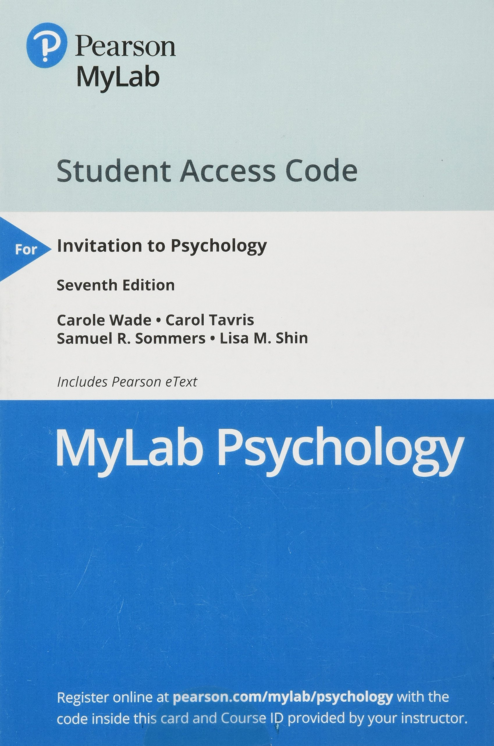 invitation to psychology 7th edition