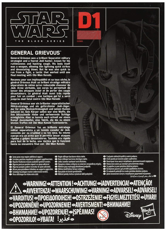 Amazon.com: Star Wars E2989EU5 Sw Bl Black Series Deluxe Figure 1 ...
