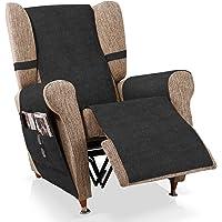 Bartali Cubre sillón Relax Larissa , Negro 1