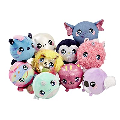 Squeezamals BH65890.4300 Slow Rise, Cuddly, Soft, Squshie, Sweet Scented Plush Animal Toy, Multi: Toys & Games