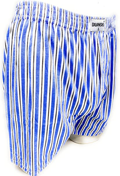 Daianshu Pack de 4/8 Calzoncillos Boxer Americano de Algodón para Hombre, Tallas Extra Grandes 2XL Pack de 4: Amazon.es: Ropa y accesorios