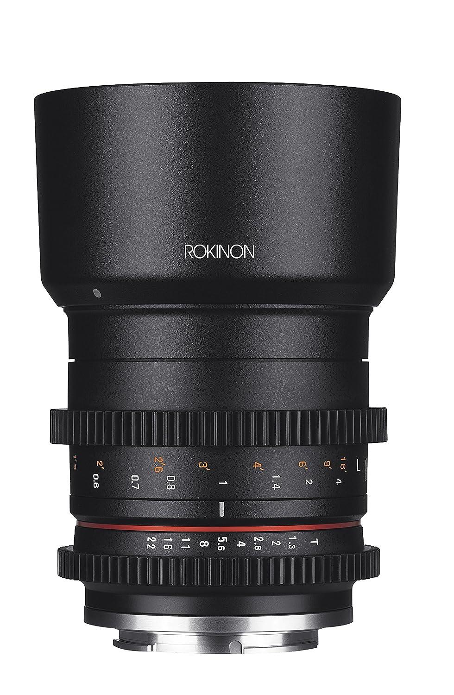 Rokinon cv50 m-mft 50 mm t1.3コンパクト高速度Cineレンズfor Micro Four Thirds、ブラック   B01KZ9TKOC