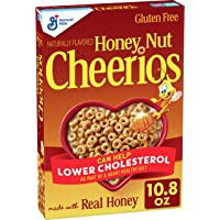 Honey Nut Cheerios, Cereal with Oats, Gluten Free, 10.8 oz Deals
