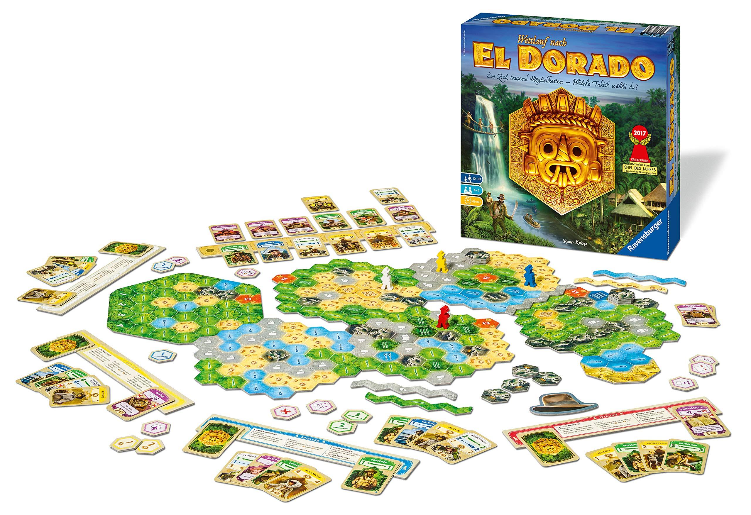 Wettlauf nach El Dorado: Ein Ziel, tausend Möglichkeiten - Welche Taktik wählst du?: Amazon.es: Knizia, Reiner: Libros en idiomas extranjeros