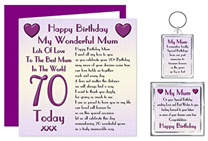 I Love You My Wife Verse Keyring Special Keepsake Gift Birthday