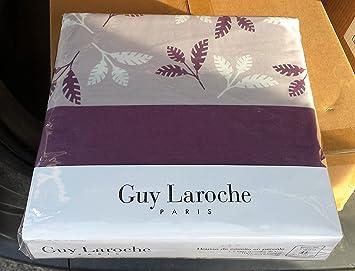 linge de lit guy laroche carrefour Parure de lit en coton percale Guy Laroche: Amazon.fr: Cuisine  linge de lit guy laroche carrefour