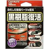 カーメイト 車用 脱脂剤 コーティング剤 黒樹脂復活 10ml C24