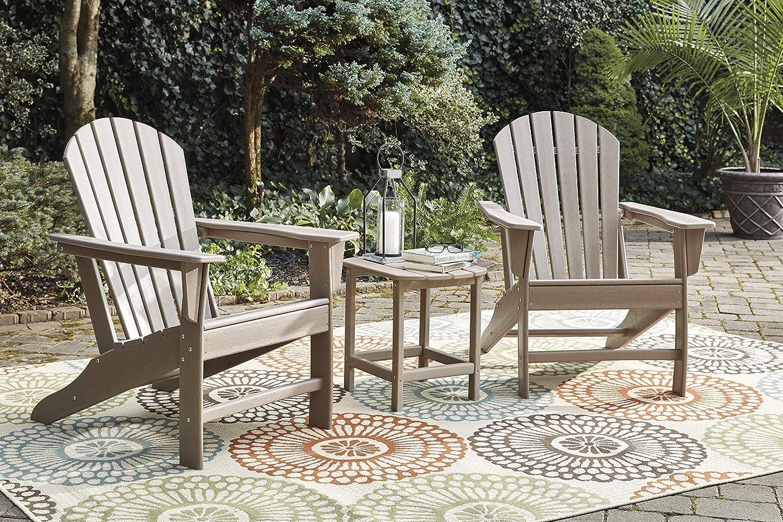 Signature Design by Ashley P014-703 Sundown Treasure Rectangular End Table, Grayish Brown