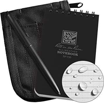 735B-KIT Notebook Cover and Pen Kit No Rite in the Rain Weatherproof Notebook