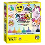 Creativity For Kids Emogi-Pintura para Ventana Pintura para Ventana